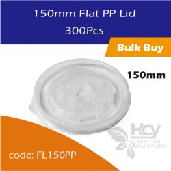 28.Flat PP Lid 150mm 300PCS