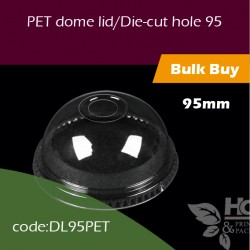 12.PET dome lid/Die-cut hole 95透明拱盖 圆啤孔1000PCS