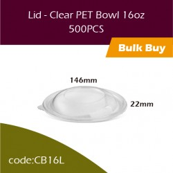 28.Lid - Clear PET Bowl 16oz透明冻食胶碗500PCS