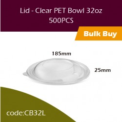 30.Lid - Clear PET Bowl 32oz透明冻食胶碗500PCS