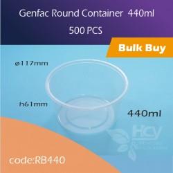 03.Gerfac Round Container 440ml 胶圆盒500PCS