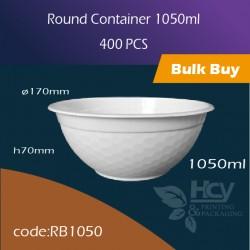 09.Round Container 1050ml 胶圆盒400PCS
