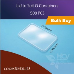 31.Lid to Suit G Containers方胶盒盖500pcs