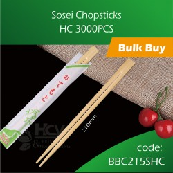 03.Sosei Chopsticks HC 3000pcs