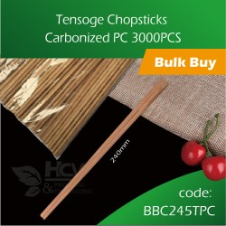 05.Tensoge Chopsticks Carbonized PC 3000pcs