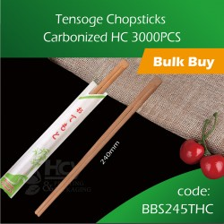 06.Tensoge Chopsticks Carbonized HC 3000pcs