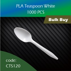 05.PLA Teaspoon White 1000pcs