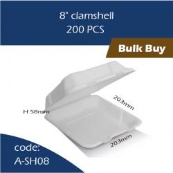 "12-8"" clamshell 200pcs"