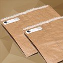Double Lined Grease Proof Paper Bag /  Brown