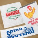 Souvlaki Bag /Hamburger Bag / Foil Chicken Bag